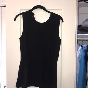 Theory black blouse